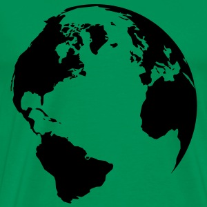world T-Shirts - Männer Premium T-Shirt
