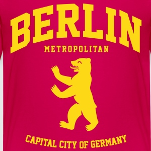 BERLIN METROPOLITAN CITY Kinder T-Shirts - Teenager Premium T-Shirt