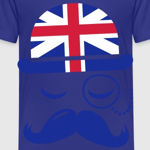 Vintage English Gentleman with Moustache Barn-T-shirts - Premium-T-shirt barn