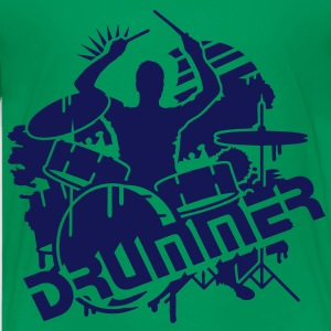 A DRUMMER ON HIS DRUMS Kids' Shirts - Teenage Premium T-Shirt
