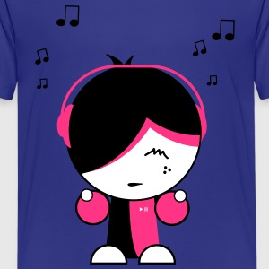 Musik Babbett3 3c Kinder T-Shirts - Teenager Premium T-Shirt
