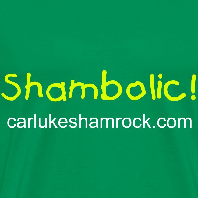 Shambolic! - tshirt light green