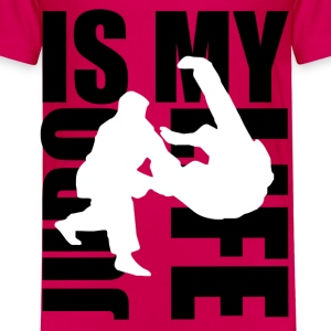 judo is my life Skjorter - Premium T-skjorte for barn