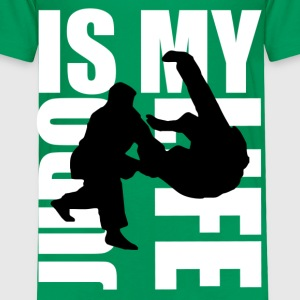 judo is my life Shirts - Kids' Premium T-Shirt