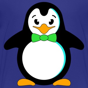 Kindershirt Pinguin mit roter Fliege - Kinder Premium T-Shirt