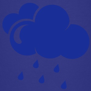 Cloud with rain drops Kids' Shirts - Teenage Premium T-Shirt