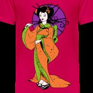 Motif ~ T shirt enfant geisha