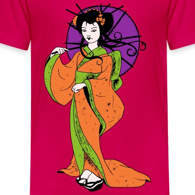 T shirt enfant geisha