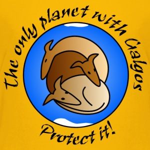 The only planet with Galgos T-Shirts - Teenager Premium T-Shirt