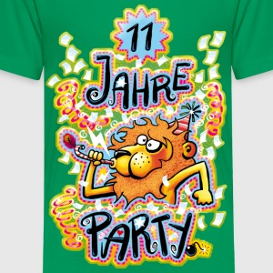 11 Jahre Party Kinder T-Shirts - Teenager Premium T-Shirt