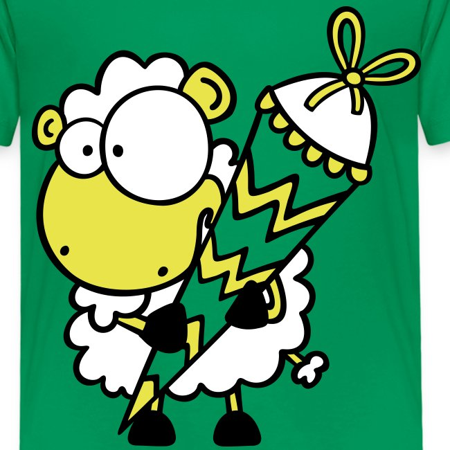 Schäfchen mit Zuckertüte T-Shirt