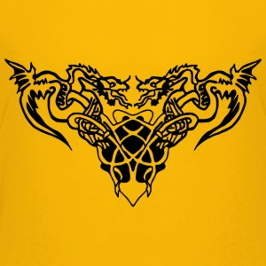 black dragons Shirts - Teenage Premium T-Shirt