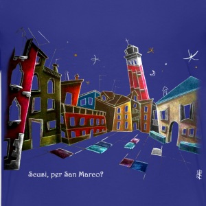 Kinder T-shirt Komisch Cartoon - Venedig - Teenager Premium T-Shirt