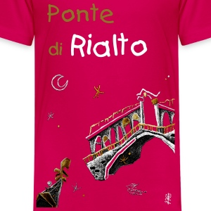 Girl T-shirt Gondola - Venice Italy - Teenage Premium T-Shirt