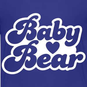 BABY bear cute family group  Kids' Shirts - Teenage Premium T-Shirt