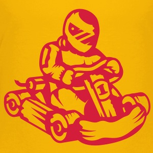 Kart Rennauto  Kinder T-Shirts - Teenager Premium T-Shirt