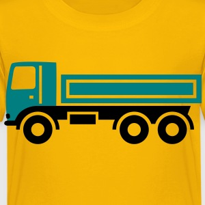 Lkw, Kipper - Kinder Premium T-Shirt