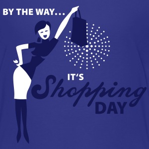 By the way ... it's shopping day! Kinder T-Shirts - Teenager Premium T-Shirt