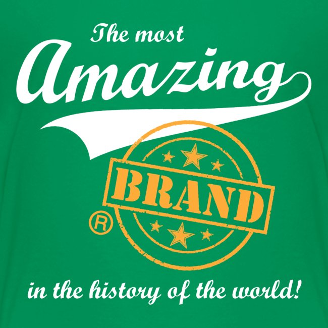 The most amazing brand (kids)