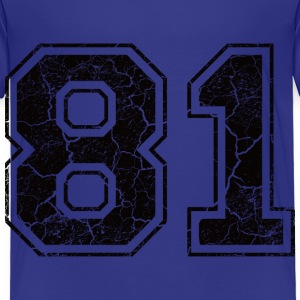Number 81 in the grunge look Tee shirts Enfants - T-shirt Premium Enfant