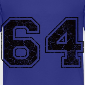 Number 64 in the grunge look Shirts - Kids' Premium T-Shirt