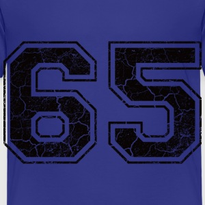 Number 65 in the grunge look Shirts - Kids' Premium T-Shirt