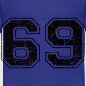 Number 69 in the grunge look Shirts - Kids' Premium T-Shirt