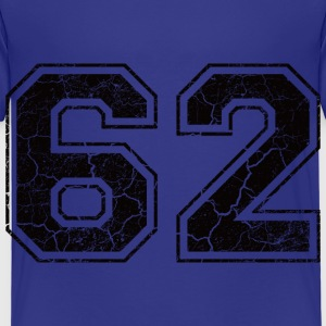 Number 62 in the grunge look Shirts - Kids' Premium T-Shirt