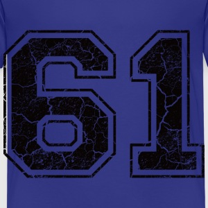 Number 61 in the grunge look Shirts - Kids' Premium T-Shirt