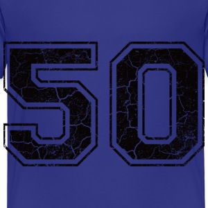 Number 50 in the grunge look Shirts - Kids' Premium T-Shirt