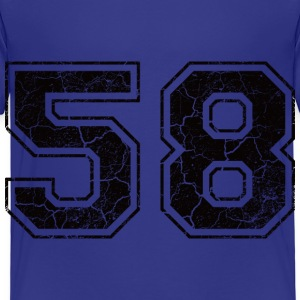 Number 58 in the grunge look Shirts - Kids' Premium T-Shirt
