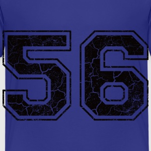 Number 56 in the grunge look Shirts - Kids' Premium T-Shirt