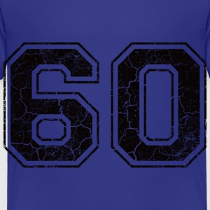 Number 60 in the grunge look Shirts - Kids' Premium T-Shirt