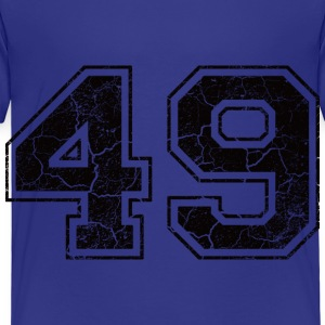 Number 49 in the used look Shirts - Kids' Premium T-Shirt