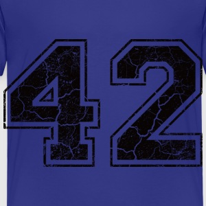 Number 42 in the used look Shirts - Kids' Premium T-Shirt
