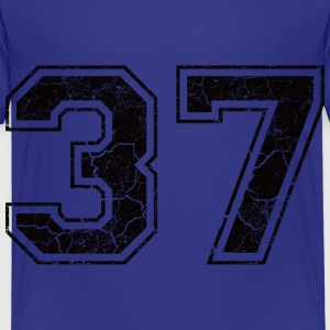 Number 37 in the used look Shirts - Kids' Premium T-Shirt