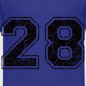 Number 28 in the used look Shirts - Kids' Premium T-Shirt