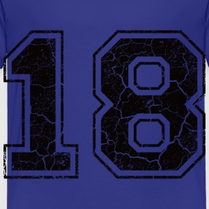 Number 18 in the used look Shirts - Kids' Premium T-Shirt