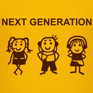 Next Generation T-Shirts - Premium T-skjorte for barn