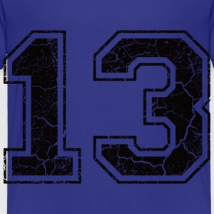 Number 13 in the used look Shirts - Kids' Premium T-Shirt