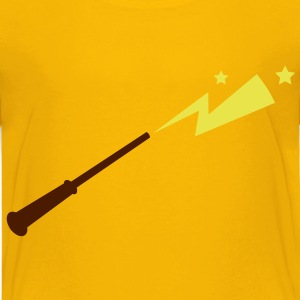 simple magic wand with sparks and stars magical!  Shirts - Kids' Premium T-Shirt