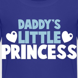 Daddy's little PRINCESS with cute love hearts Shirts - Kids' Premium T-Shirt