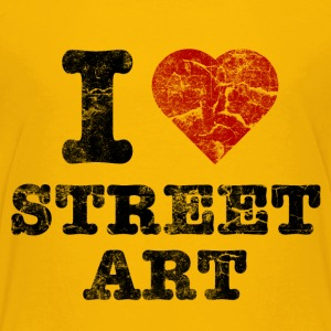i_love_streetart_vintage Shirts - Teenage Premium T-Shirt