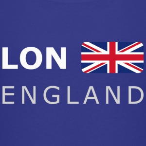 Teenager T-Shirt LON ENGLAND BF white-lettered - T-shirt Premium Ado