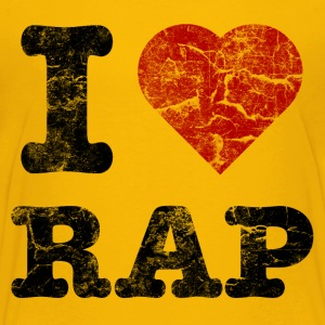 i_love_rap Shirts - Teenage Premium T-Shirt
