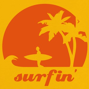 surfer surfboard Shirts - Teenager Premium T-shirt