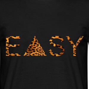 EASY Leopard T-Shirts - Men's T-Shirt