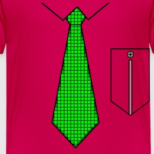 Green tie with pocket Shirts - Kinderen Premium T-shirt