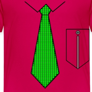 Green tie with pocket Shirts - Kids' Premium T-Shirt