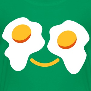 FRIED egg face sunny side up eggs for eyes Shirts - Kids' Premium T-Shirt